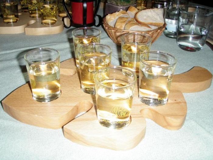 Мозельское вино в ресторане Zum Domstein, Трир