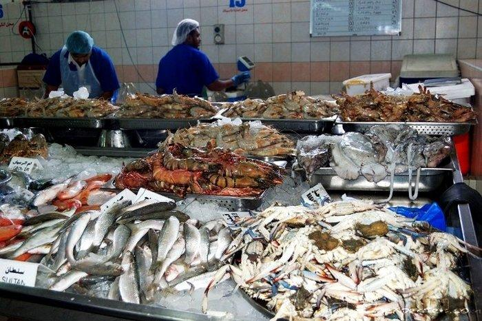 Рыбный рынок Абу-Даби