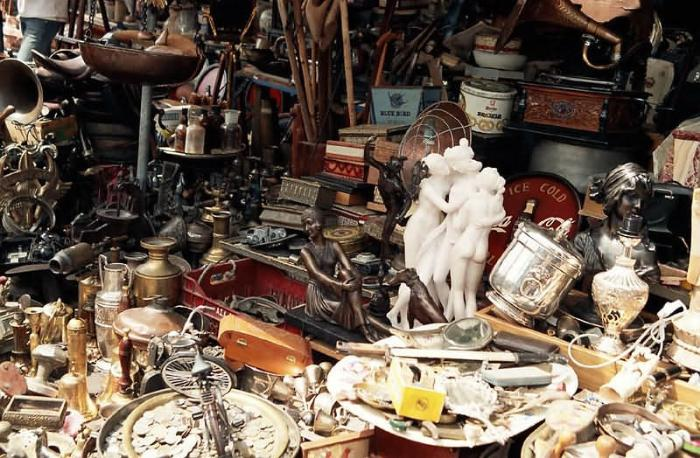 шоппинг, антиквариат в Греции
