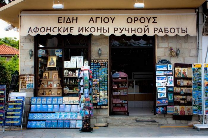 фото: Шоппинг в Греции
