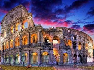 Колизей в Риме — самая величественная арена