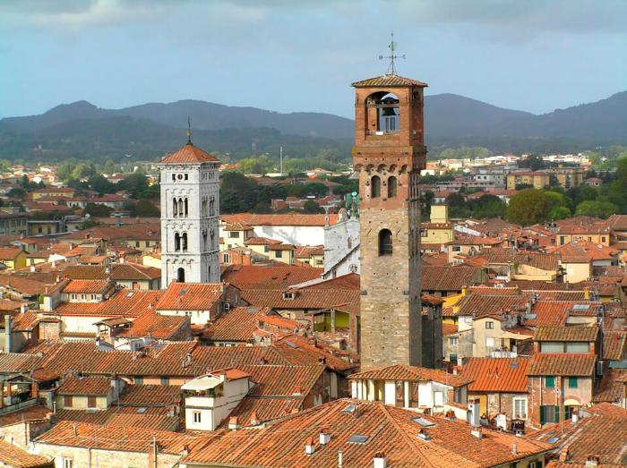 Башня Часов Torre delle Ore, Лукка