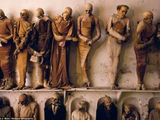 Катакомбы Капуцинов в Палермо — итальянский город мертвецов