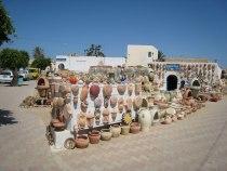 Шоппинг в Джербе - керамика из Геллалы