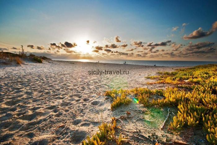 Пляж Салинелла