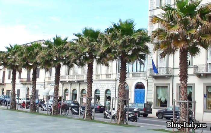 Виареджо городская улица