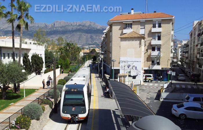 Трамвай в Алтее