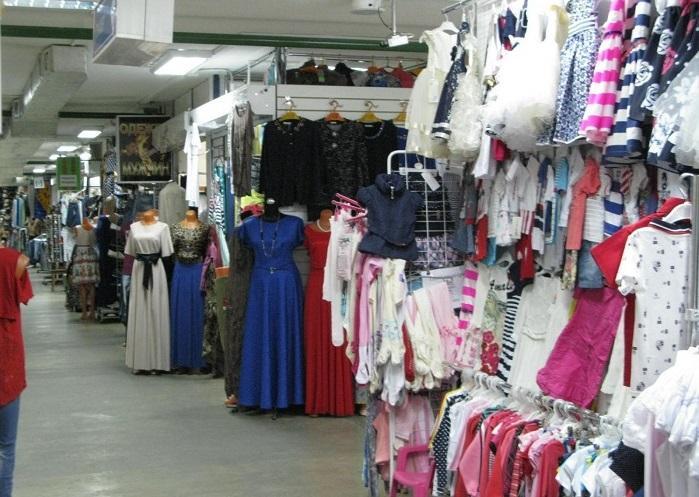 Вещевой рынок в Геленджике