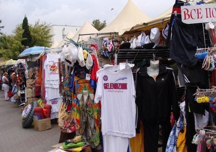 Вещевые рынки в Геленджике