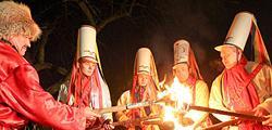 Обряд «Цари Коледы» в Семежево