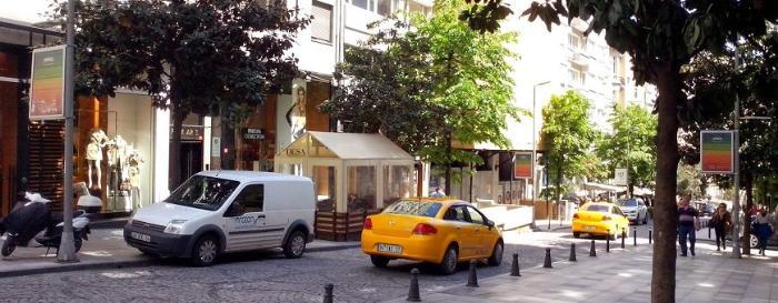 Район Нишанташи в Стамбуле, Турция