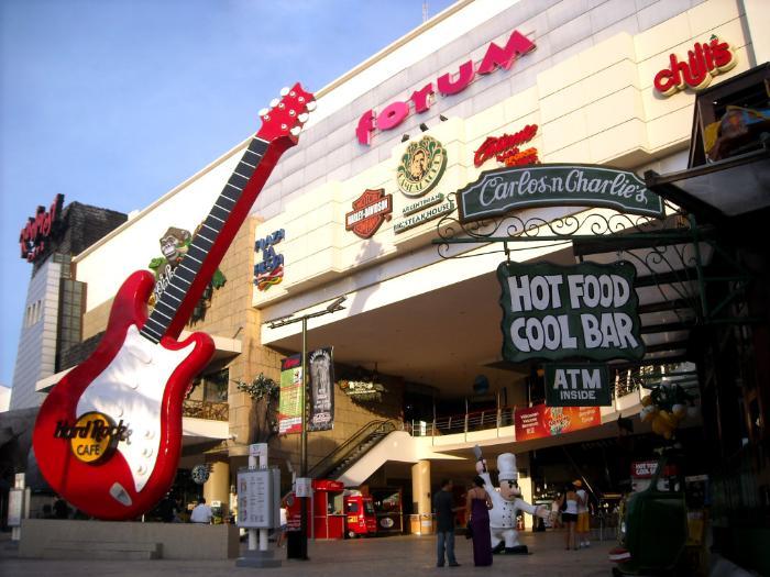 Плаза Форум в Канкуне. Шопинг в Мексике. Одежда и торговый центр в Канкуне. Где пришмотиться в Канкуне