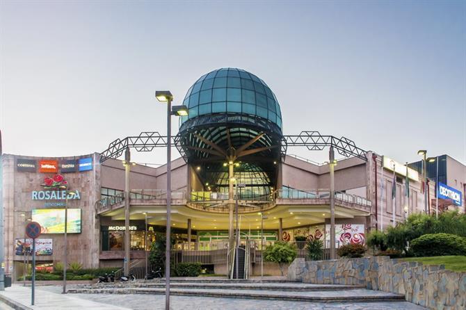Rosaleda торговый центр, Малага