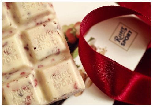 Белый шоколад.