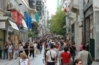 Улица Эрму в Афинах