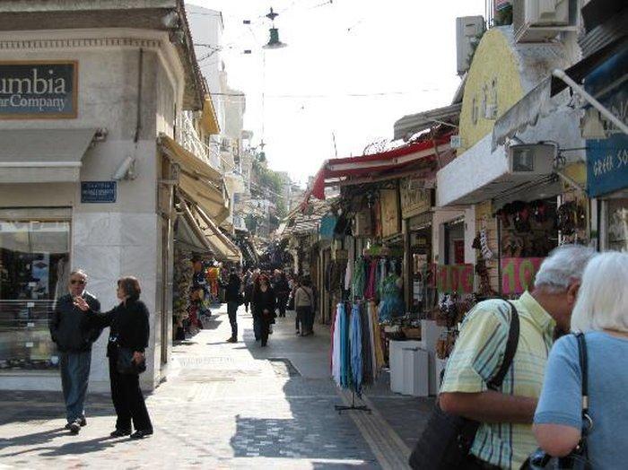 Монастираки - шоппинг