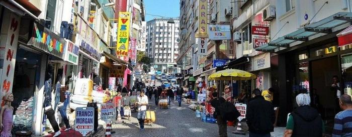 Рынок Лалели в Стамбуле, Турция