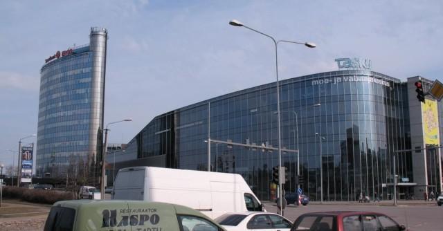 Tasku - здание торгового центра в Тарту