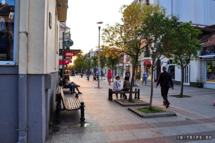 Магазины в центральной части Подгорицы