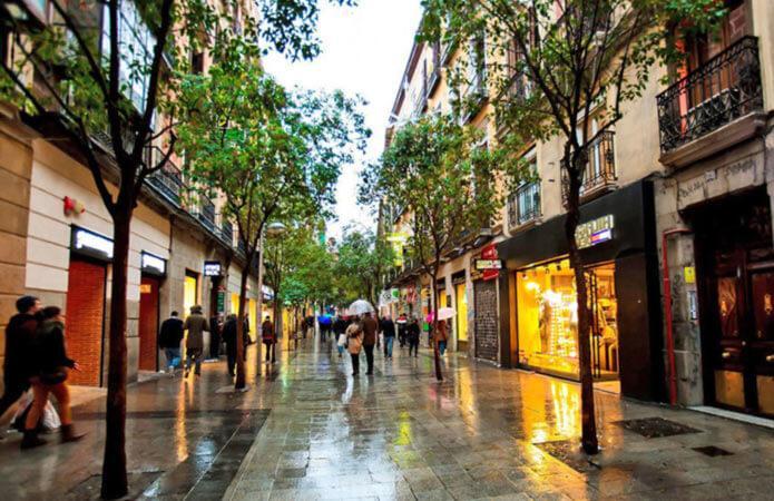 Торговая улица Мадрида