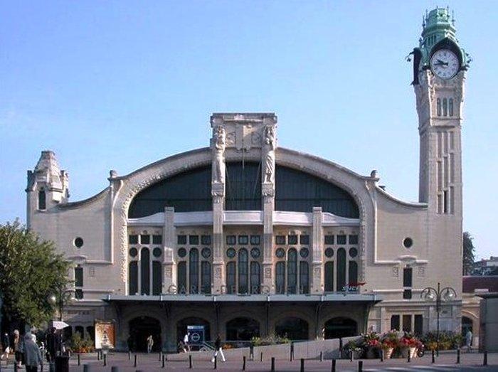 Железнодорожный вокзал в Руане