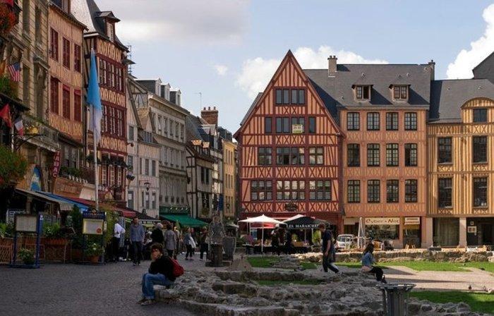 Площадь Старого Рынка (plасе du Vieux Marchе)