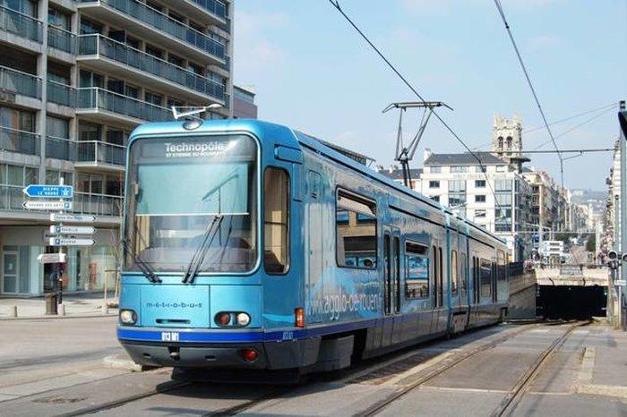 Городской транспорт - трамвай