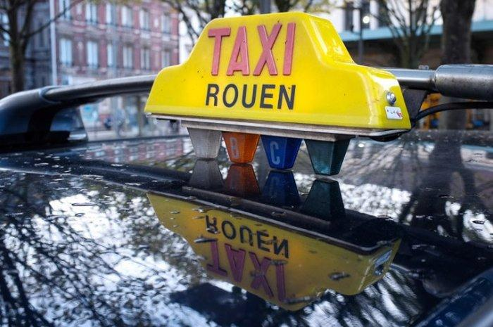 Как добраться до Руана - такси