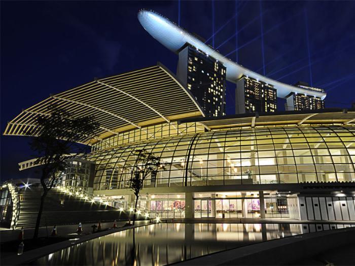 Торговый центр The Shoppes at Marina Bay Sands
