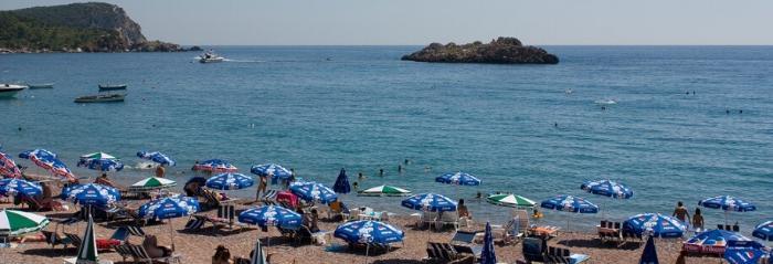 Цены на пляжах Черногории (1)