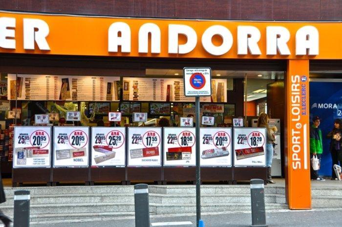 Скидки в Андорре