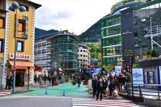 Shopping district in Andorra