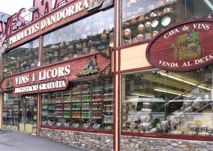 Andorra shop