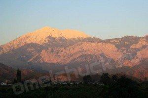 Горы. Вид из Кириша.
