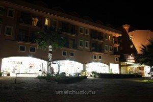 Ночная улица Кириша (Турция)