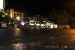Верблюды в ночном Кирише (Турция)