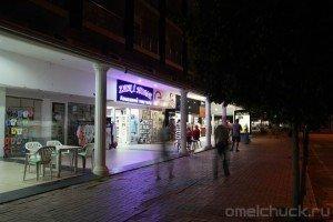 Ночная улица Кириша
