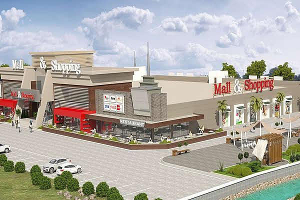 Megamall AVM шоппинг в Алании в Турции