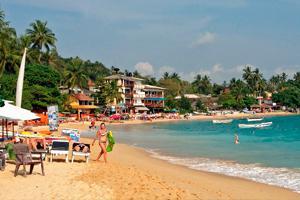 Пляж Унаватуна бич, Унаватуна, Шри Ланка