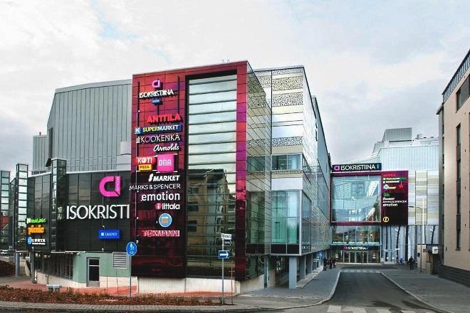 Торговый центр Iso Kristiina. Фото: projektiuutiset.fi
