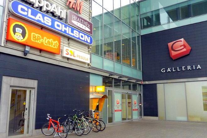Торговый центр Galleria. Фото: yle.fi