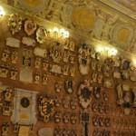Университет в Падуе, старинные гербы