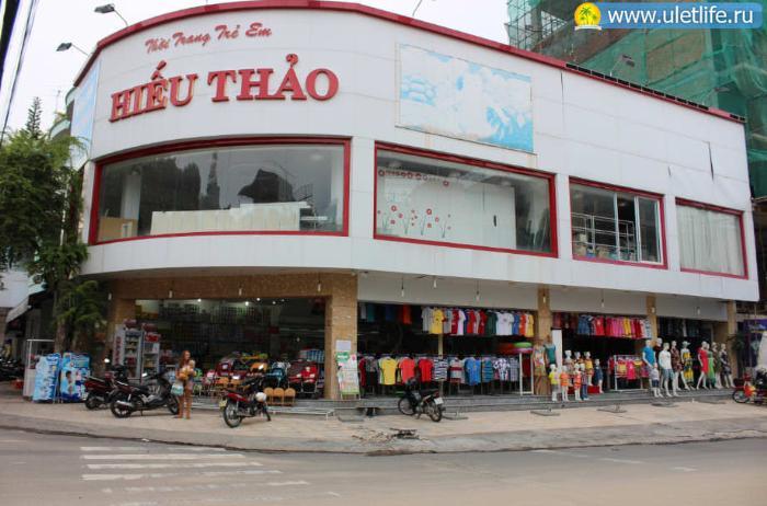Детские магазины в Нячанге