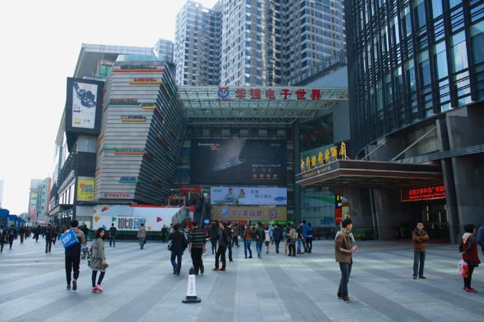 Рынок электроники в Шэньчжэне