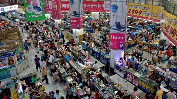 Рынки в Шэньчжэне