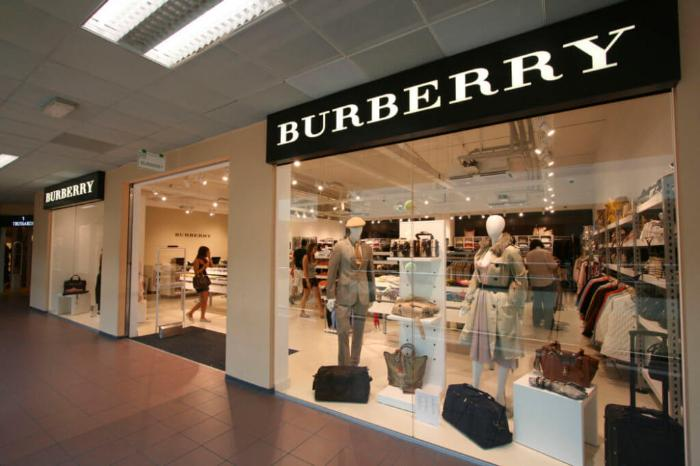 burberry foxtown