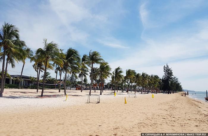 пляжи острова фукуок во вьетнаме