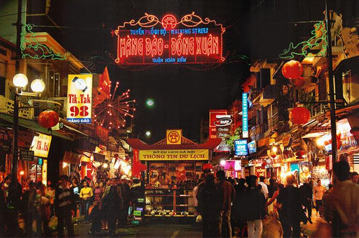 Рынки Ханоя - Ночной рынок