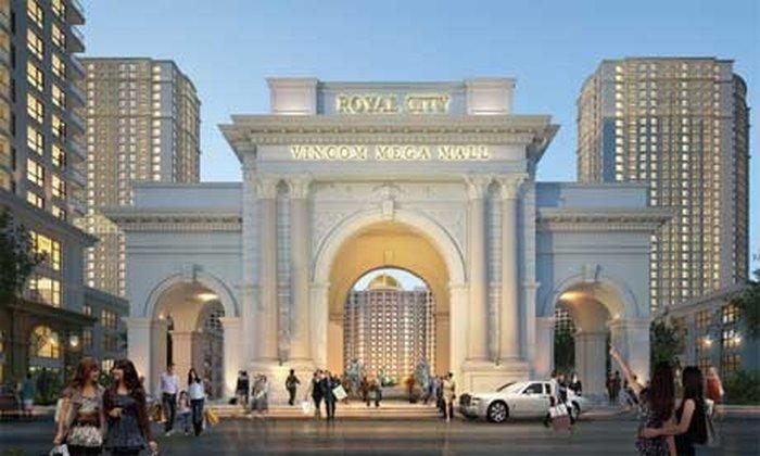 Royal City Megamall — крупный элитный подземный торговый центр