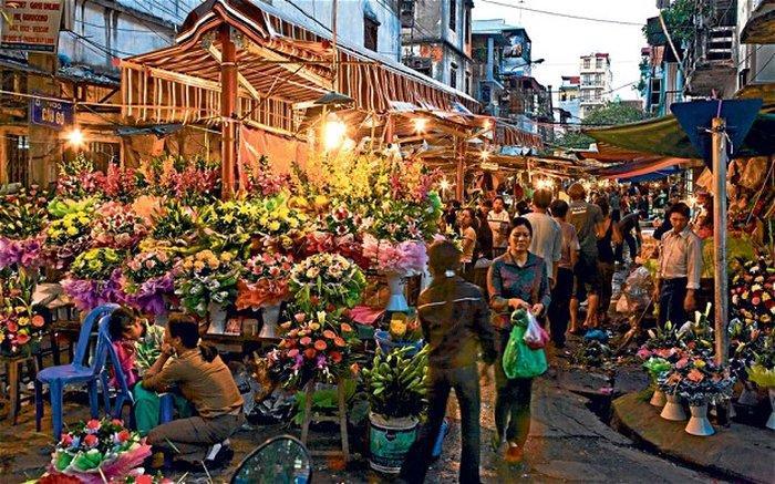 Торговые улицы Ханоя